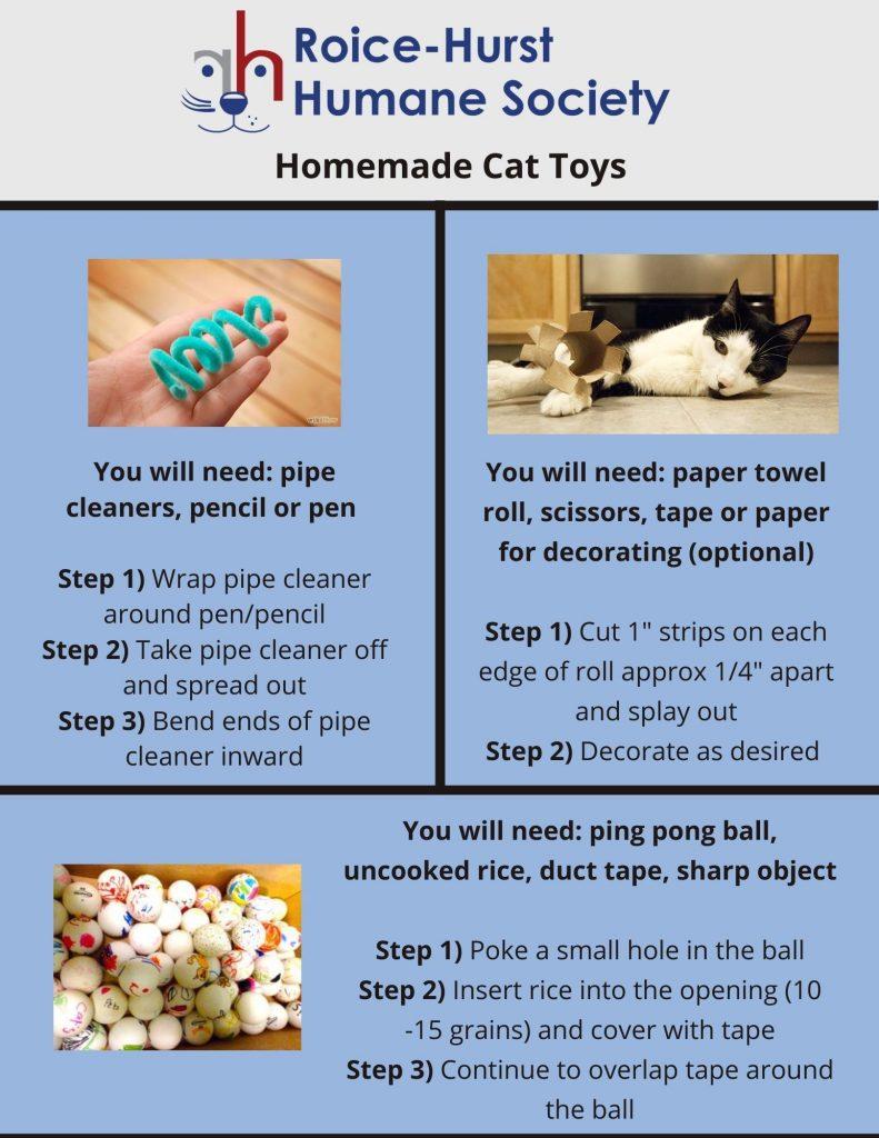 Homemade Cat Toys 1