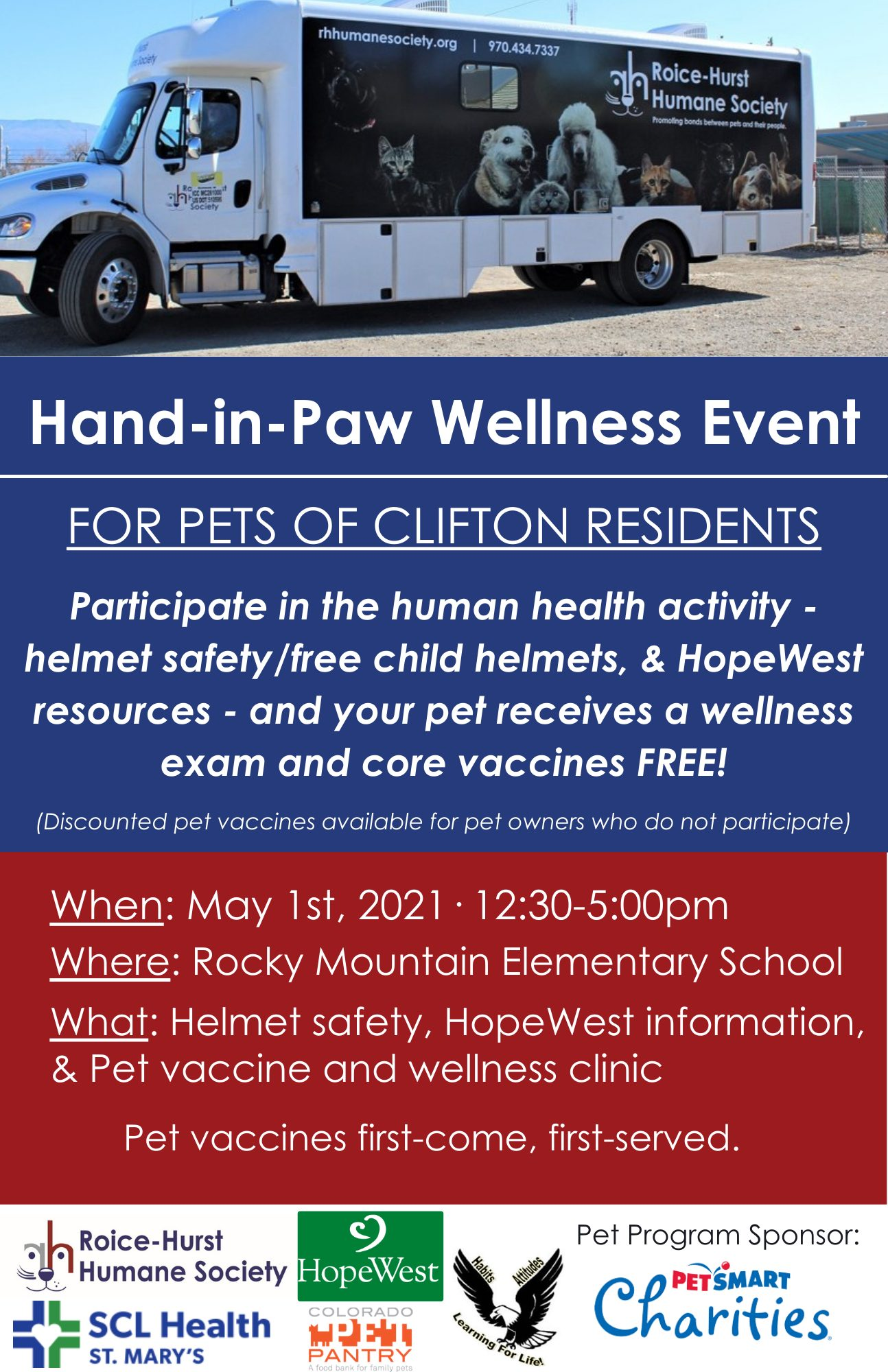 Hand-in-Paw Wellness event
