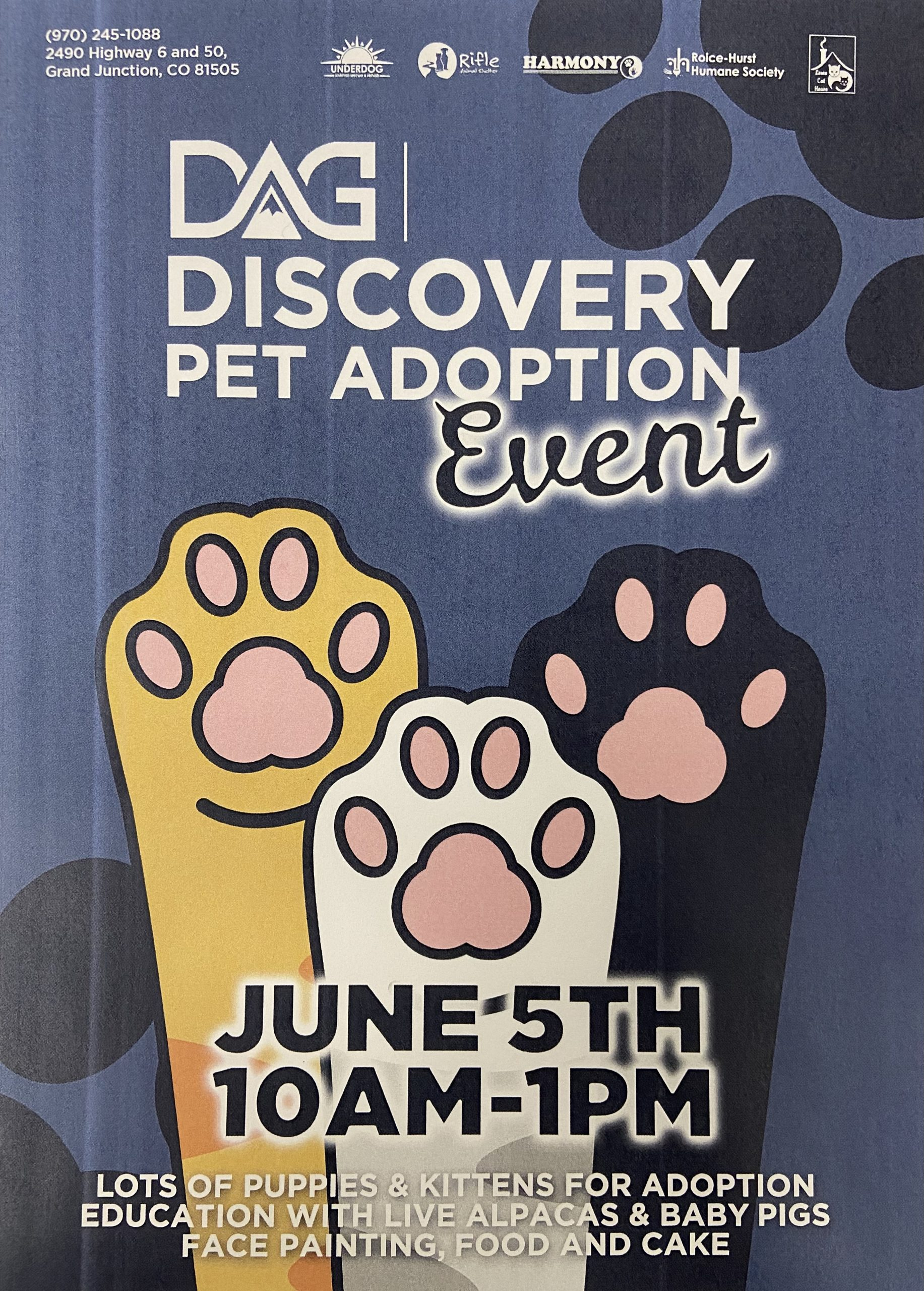 Discovery Pet Adoption Event