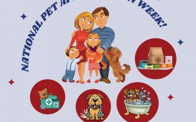 Pet Appreciation Week!