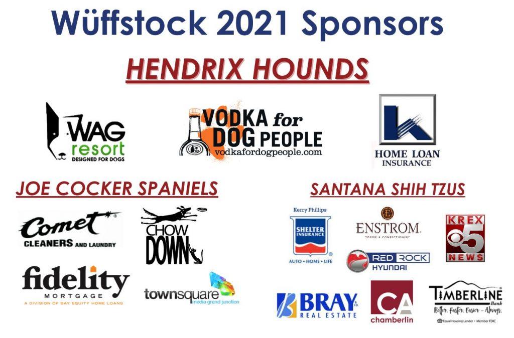 Wuffstock 2021 Sponsors