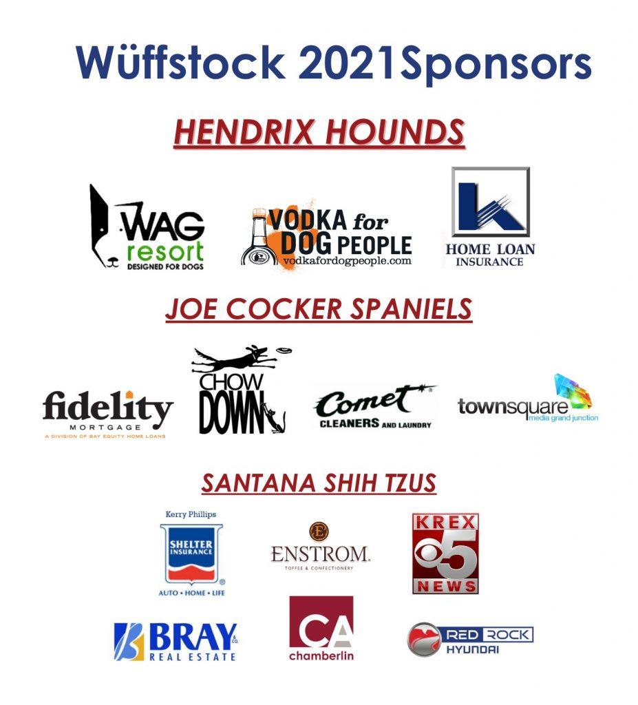 Wüffstock 2021 Sponsors